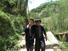 two hmong boys